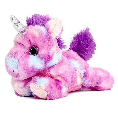 Mulberry Drop Purple Unicorn Bright Fancies 7' Stuffed Animal Plush