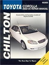 Toyota Corolla, 2003-05 Repair Manual (Chilton Total Car Care Series Manuals)