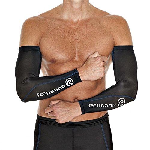Rehband Armschoner Compression Arm Sleeve, Schwarz, L/XL