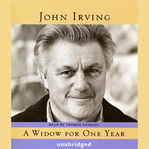 A Widow for One Year     A Novel              By:                                                                                                                                 John Irving                               Narrated by:                                                                                                                                 George Guidall                      Length: 24 hrs and 4 mins     570 ratings     Overall 4.2