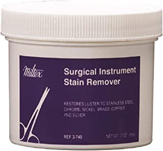 Miltex Surgical Instrument Stain Remover Powder 3-740, 3 Ounce Jar, 1 Each