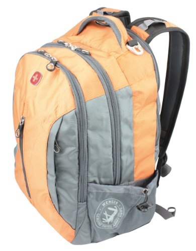 Wenger Freizeit Business Rucksack Mittel Backpack, orange/grau, 24 liters, SA12884715