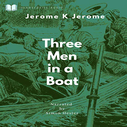 『Three Men in a Boat (Annotated)』のカバーアート