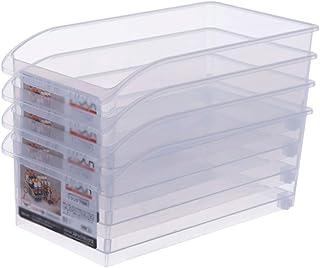 Boîtes Bento Frais de Maintien Boîte de Cuisine Réfrigérateur Boîte de Rangement en Plastique Transparent Congélateur Tiro...