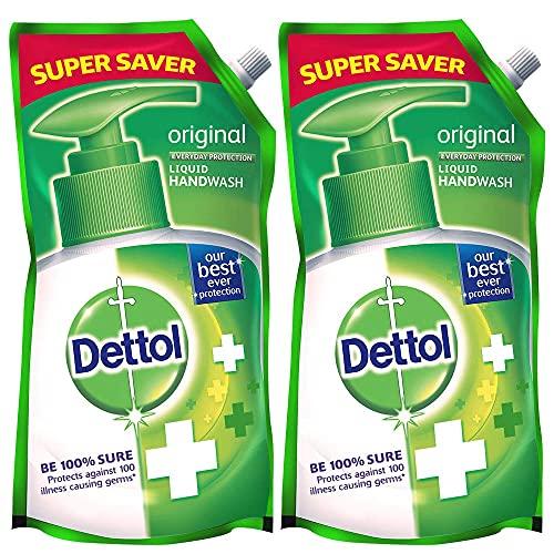 Dettol Original Liquid Hand Wash Refill – 750ml (Buy 1 get 1)