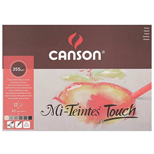 200005425 Canson Mi-Teintes Touch Pad A3 - 12 hojas
