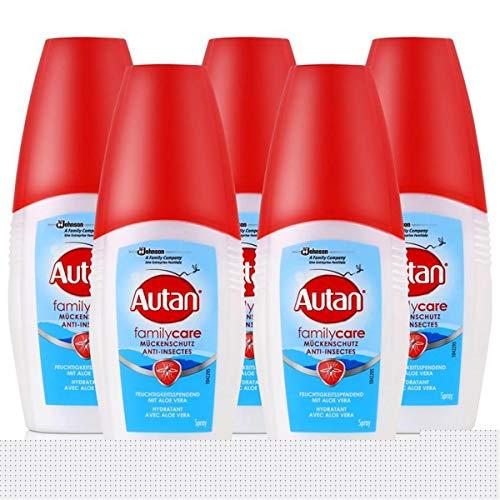 5Pack Autan Family Care Mückenschutz-Pumpspray 5x 100ml