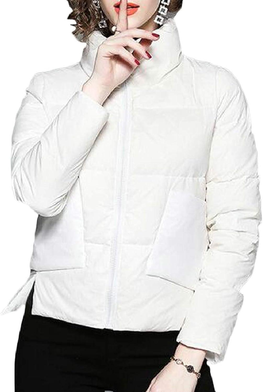 CBTLVSN Women's Warm Ultra Light Packable Winter Down Puffer Jacket Coat