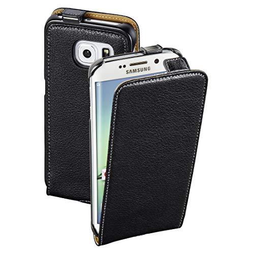 Hama Smart Case Flip Cover Passend für: Samsung Galaxy S6 Edge Schwarz