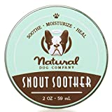 Snout Soother - Natural Dog Company | Dry Chapped Cracked and Crusty Dog Nose Remedy for Dry Dog Noses | 2 Ounce Tin