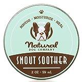 Chupete de hocico – Natural Dog Company Skin Soother 59 ml | Remedio seco agrietado y crujiente para nariz de perro seca