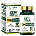 Keto Pills, 60 Capsules Fat Burner & Weight Loss Supplement Formula Keto Burn Diet Pills, Women Men Appetite Suppressant Increases Energy Support, 30 Day Supply