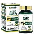 Keto Pills, 60 Capsules Fat Burner & Weight Loss Supplement Formula Keto Burn Diet Pills, Women Men Appetite Suppressant Increases Energy Support, 30 Day Supply