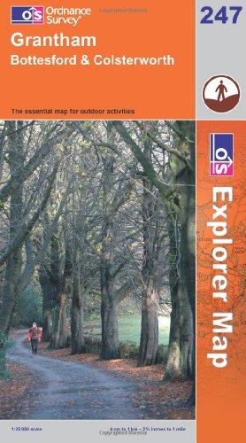 OS Explorer map 247 : Grantham