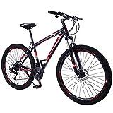 RSTJ-Sjef Bicicleta De Montaña De Nieve De Velocidad Variable De 29 Pulgadas para Adultos Y Niños, Bicicleta Plegable De Aleación De Aluminio con Amortiguación De Campo Traviesa