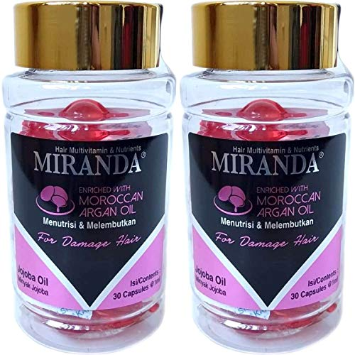 MIRANDA ミランダ Hair Multivitamin&Nutrients ヘアマルチビタミン ニュートリエンツ 洗い流さないヘアト...