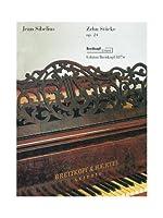 シベリウス: ピアノのための10の小品 Op.24/ブライトコップ & ヘルテル社