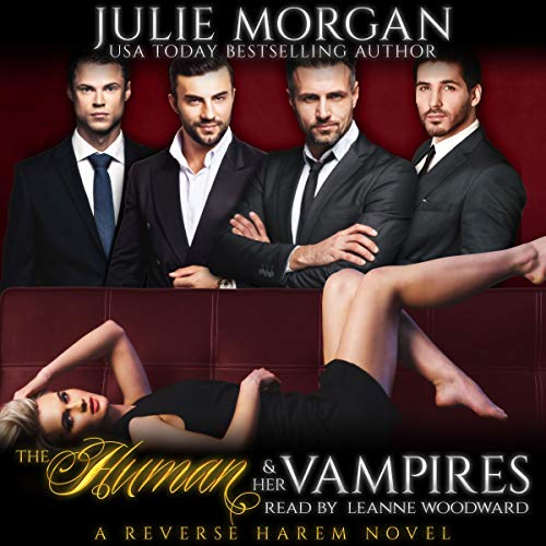 The Human and Her Vampires: A Reverse Harem Vampire Paranormal Romance cover art