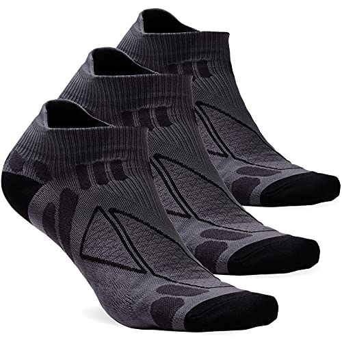 Best wicking socks - No Show Moisture Wicking No Blisters Athletic Running Socks for Men and Women