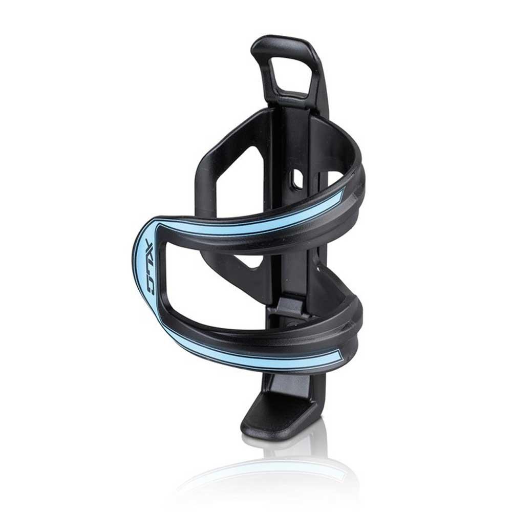 XLC Zubehör Trinkflaschenhalter Sidecage, schwarz (Blau), 15x7.6x7.6cm