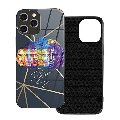 Heyuchuan J. Cole iPhone 12 Glass Case