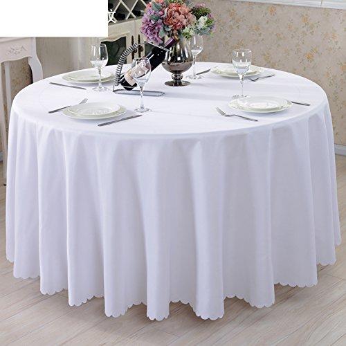 TINDLSHHDPPM Tovaglia stile europeo rurale ristorante alberghi tovaglia tessuto tovaglia di panno di tabella tv mobile panno decorativo-J diametro280cm(110inch)