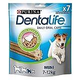 Dentalife Purina Mini–Igiene Orale al Quotidiano–115g–7Bastoncini da Masticare per Cani di Piccola Taglia–Confezione da 5