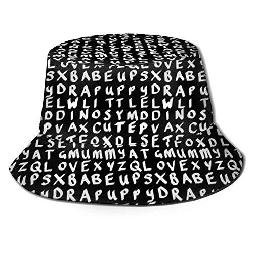 Katrina - Sombrero de lona plegable para primavera y verano, para viajes, diseño de pescador, playa, sol, color negro
