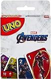 Mattel Games Uno Marvel Avengers Card Game