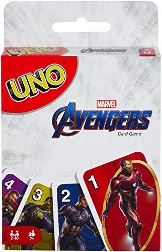 Mattel Games Uno Marvel Avengers Card Game