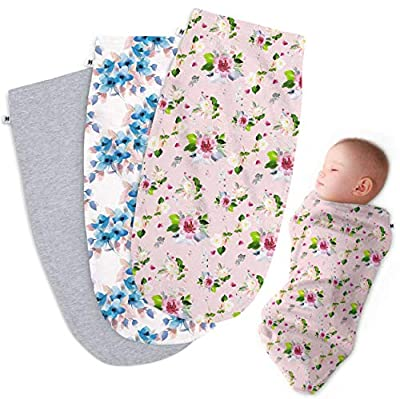 Henry Hunter Baby Swaddle Cocoon Sack | The Simple Swaddle | Soft Stretchy Comfortable Cotton Receiving Blanket for Infants & Newborns 0-3 Months