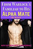 From Warlock's Familiar to His Alpha Husband: A M/M Gay Paranormal Romance
