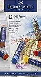 Faber-Castell 621684 Lot de 12 Pastels à l'Huile