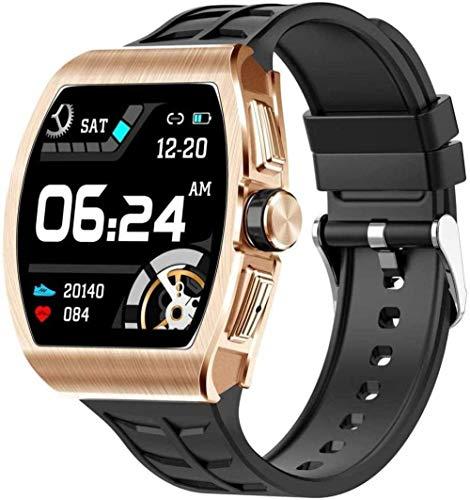 Reloj deportivo inteligente para mujeres y hombres, monitor de presión arterial de frecuencia cardíaca, reloj de llamada Bluetooth