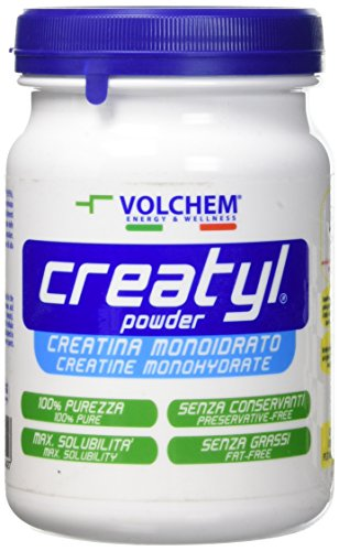 Volchem Creatyl Powder / Integratore Creatina Monoidrato / 300 g