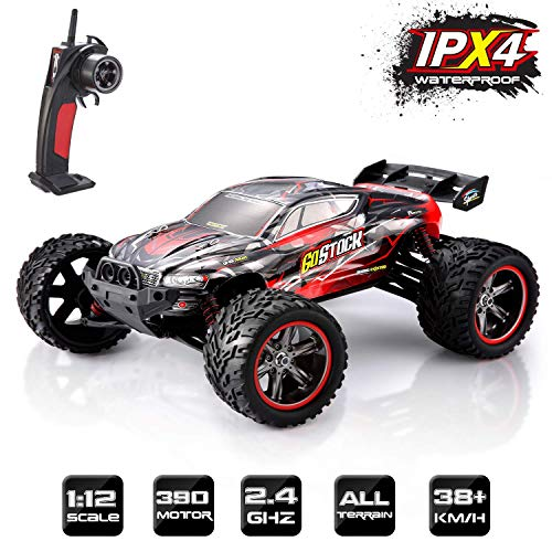GoStock Remote Control Car, 1:12 Off Road RC Racing Car 38+ Km/h High Speed...