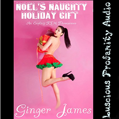 Noel's Naughty Holiday Gift audiobook cover art