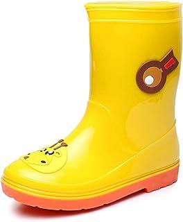 SPKIDS Kids Boys Girls Cartoon Lightweight Waterproof rain Boots