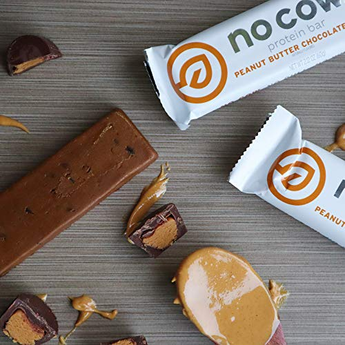 No Cow Protein Bar With Peanut Butter And Chocolate Chips