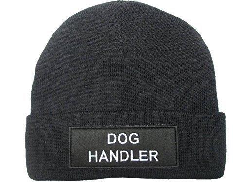 PolAmb Products Noir Chien Handler Woolly (Bonnet) Chapeau