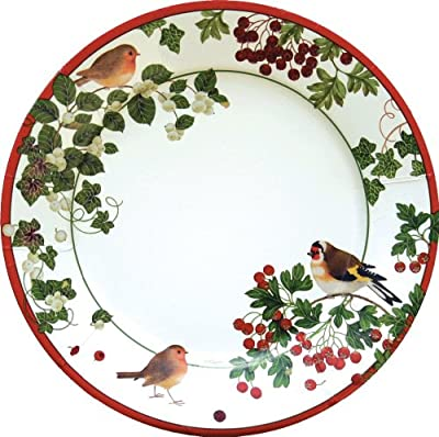 "Cheap Christmas Paper Plates"" border="