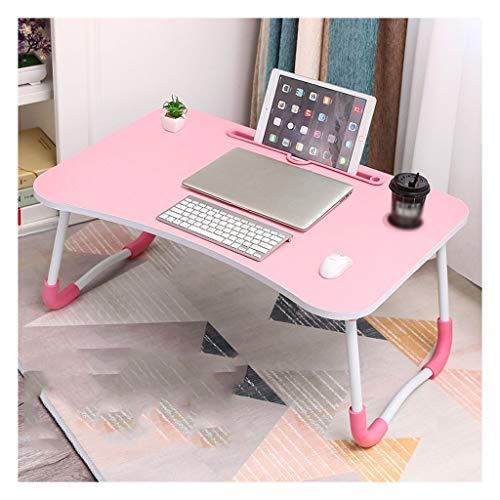 LDG Grote Laptop Bed Tafel met Opvouwbare Benen Ontbijt Serveren Bed Lade Stand Lezen Houder Voor Bank Bank Kids Speeltafel