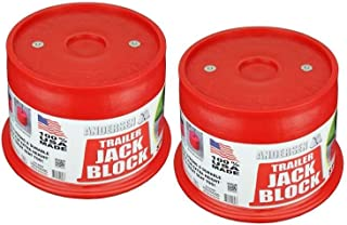 Andersen Hitches Trailer Jack Block 2-Pack with Magnets (3608-M-2)