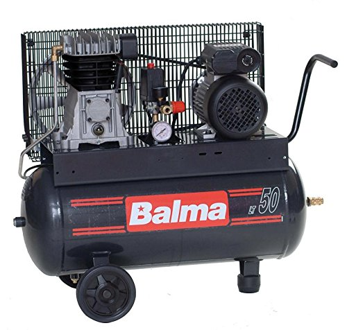 compressore balma bicilindrici con serbatoio da lt.50