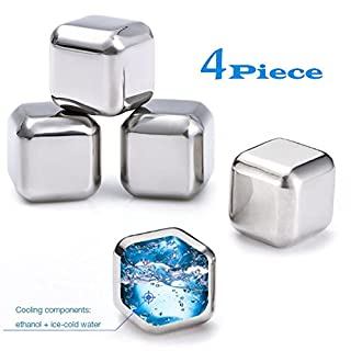 Franmara-Stainless Steel Ice Cubes Deluxe Set Of 4 (B0083RBXOY)   Amazon price tracker / tracking, Amazon price history charts, Amazon price watches, Amazon price drop alerts