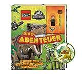 Buchspielbox Lego Jurassic World Dino, aventura con minifigura Claire y Baby Raptor + pegatina de dinosaurio, a partir de 6 años