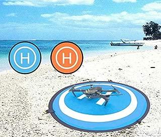 Taric DJI Mavic 2 Pro/mini/Zoom Air/Spark/Phantom 3/4 Pro 対応 無人機 75cmランディングパッドミニポータブルクイック折りたたみ (正と負)2用