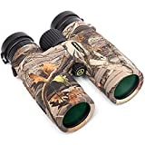 TecTecTec BPRO Wild 10x42 Binoculars Hunting Camo Outdoors Bird Watching HD Professional Binoculars for Bird Watching Travel Sports with Phone Mount Strap Carrying Bag