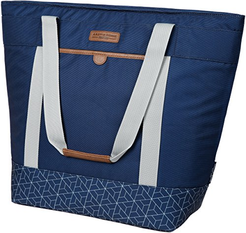 Arctic Zone Jumbo Thermal Insulated Tote Hot/Cold Food Carrier, Navy