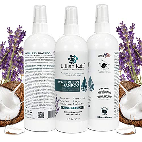 Lillian Ruff No Rinse Dog Shampoo